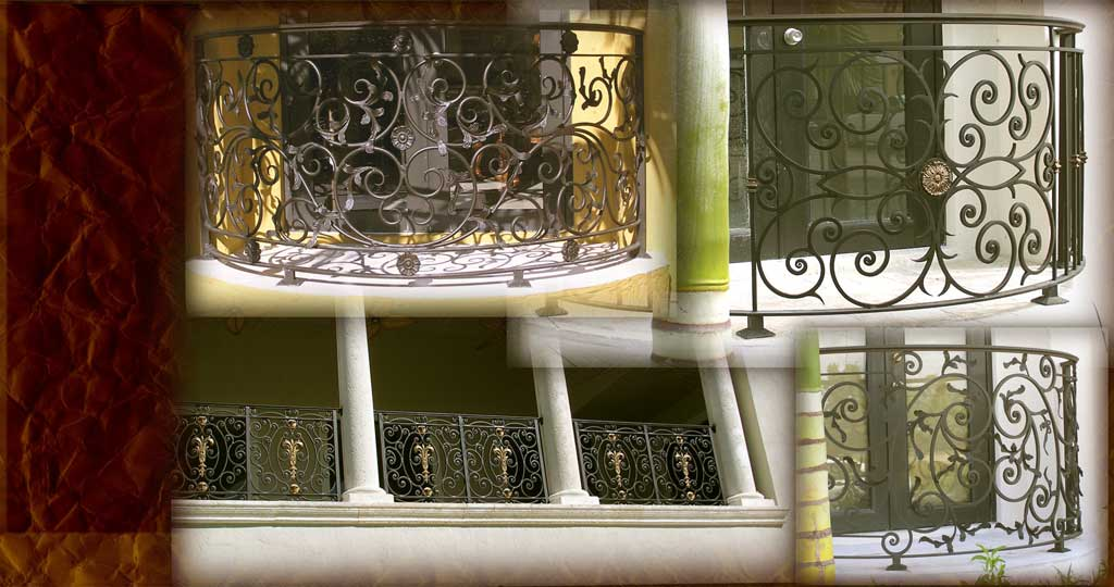 Carlos Angelini Metal works | Iron Balconies | Miami Florida