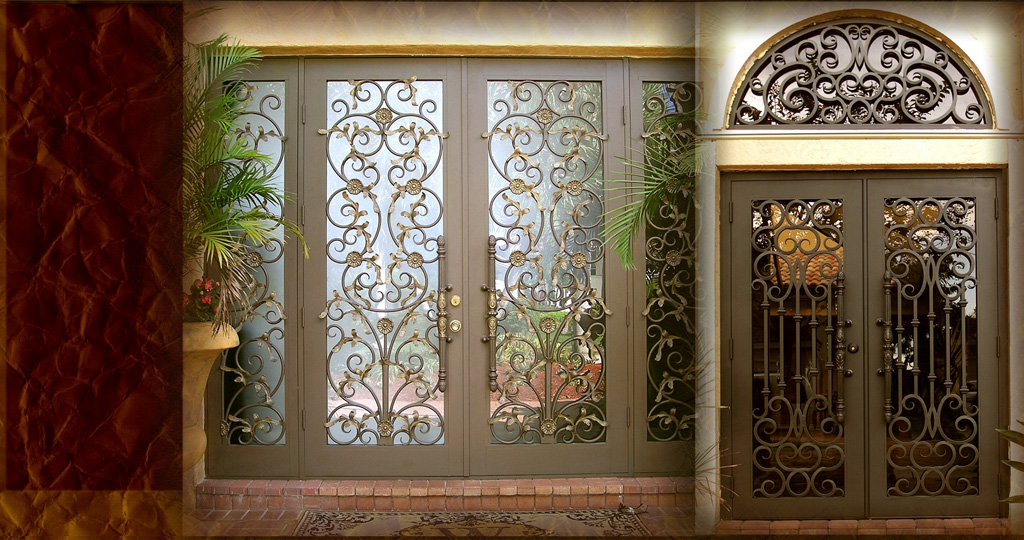 Carlos Angelini Metal works | Iron Frontdoors | Miami Florida