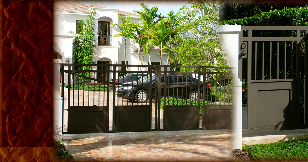 Carlos Angelini Metal works | Iron Gates | Miami Florida